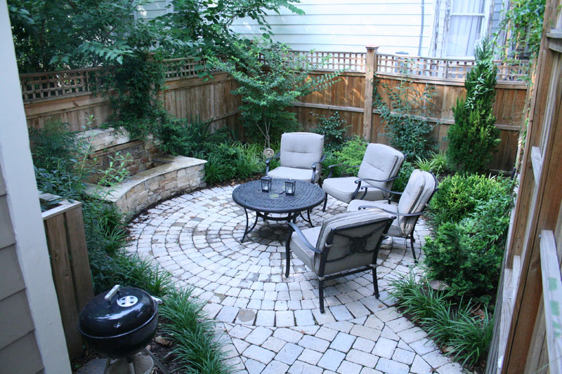 Mode Landscaping - Intimate City Garden